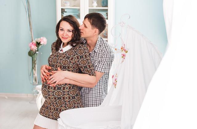 těhotenství a láska