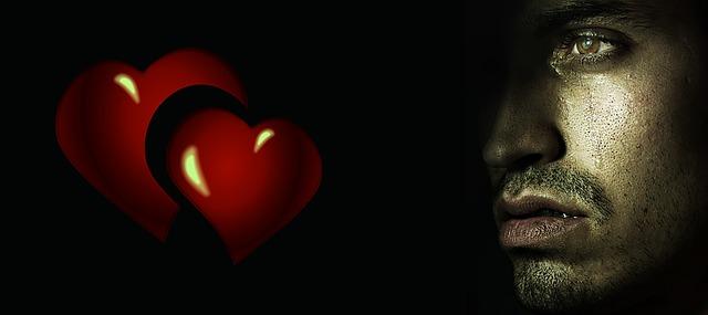 nešťastný z lásky