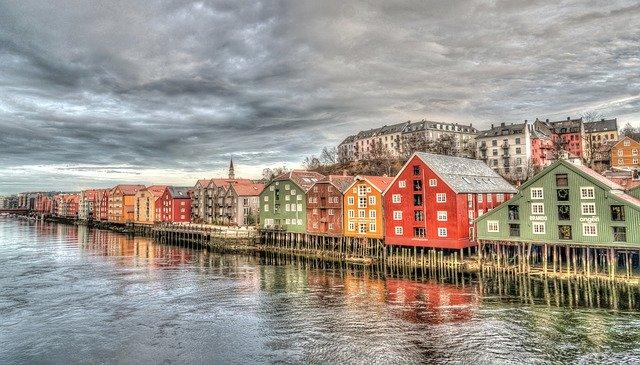 norské městečko
