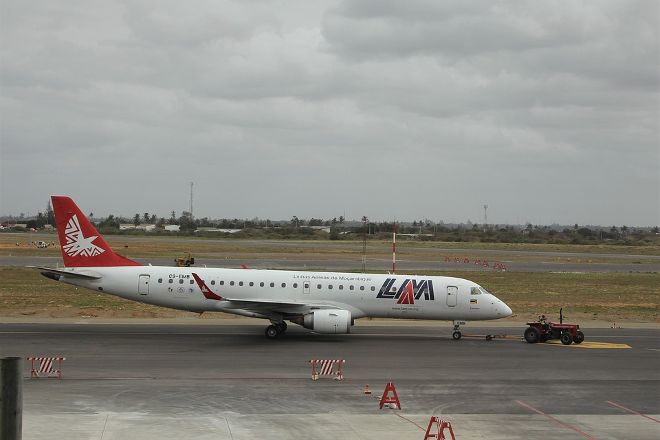 mosambické letadlo